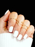 Irregular Ring Set 5pcs