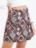 Tapestry Mini Jacquard Skirt
