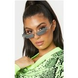 Silver Lens Brow Bar Cat Eye Sunglasses