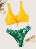 Random Tropical Mix and Match Bikini Set
