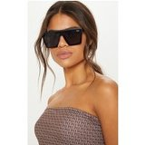 Quay Australia Black Hindsight Flat Top Sunglasses