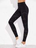 Active Eyelet Detail Leggings