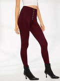 Hook and Eye Solid Leggings