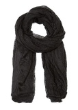 Warm scarf (wom.) (black)