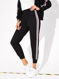 Contrast Striped Side Pants