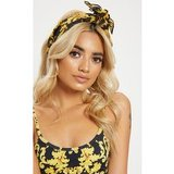 Gold Chain Print Head Scarf
