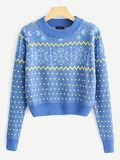 Geo Pattern Jumper