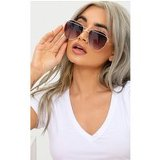 Black Aviator Sunglasses