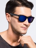 Men Mirror Lens Sunglasses