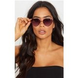 Quay Australia Purple X Elle Ferguson Collaboration Kim Sunglasses