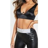 Black Diamante Panel Waist Belt