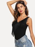 Fringe Detail Tank Top