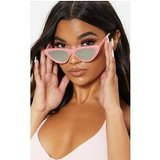 Pink Marble Effect Cat Eye Revo Sunglasses