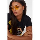 Yellow Cat Eye Lens Retro Sunglasses