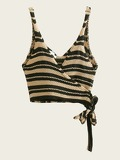 Knot Side Stripe Cami Top