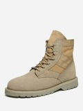 Men Lace Up High Top Boots