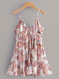 Paisley Print Cami Dress