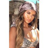 PrettyLittleThingBrown Head Scarf