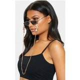 Gold Sunglasses Chain With Crystals And Dollar Signs