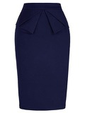 50s Layer Pencil Skirt