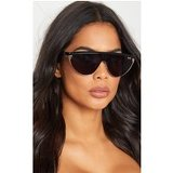 Quay Australia Black X Elle Ferguson Collaboration Goldie Sunglasses