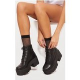 Black Chunky Festival Boot