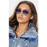 Quay Australia Blue X Elle Ferguson  Collaboration Kim Sunglasses