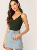 Rib-knit Cami Top