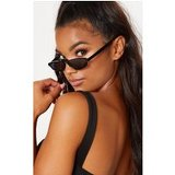 Black Thin Retro Sunglasses