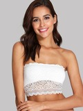 Lace Overlay Bandeau Bralette