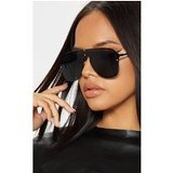 Black Oversized Aviator Sunglasses