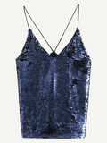 Sequin Cami Top