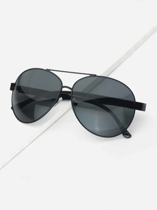 Men Top Bar Aviator Sunglasses