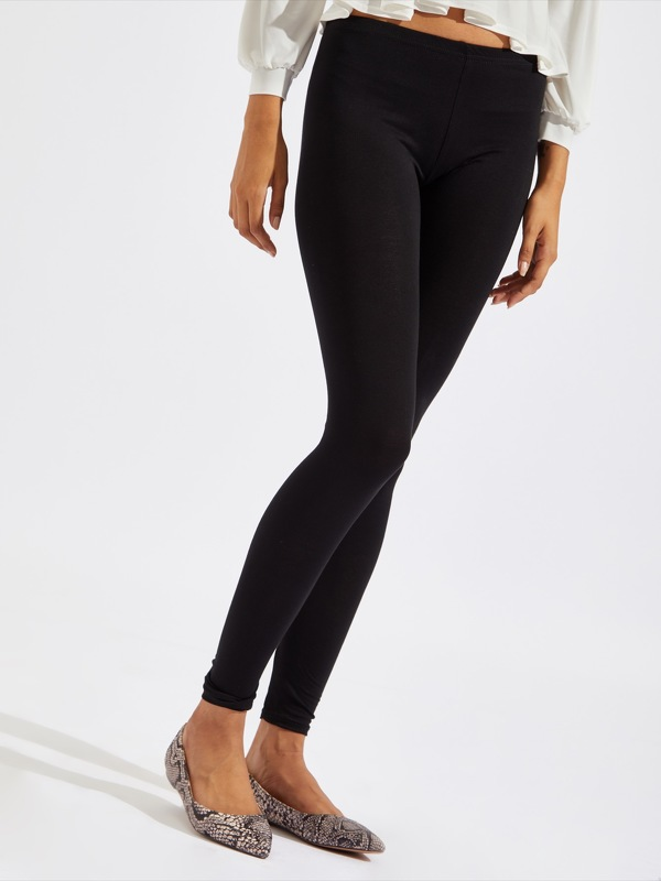 Jersey Solid Leggings