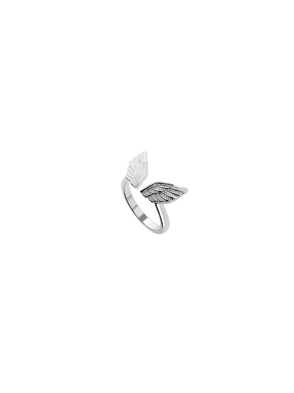 Silver Plated Wings Ring