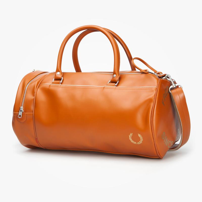 спортивные сумки фред перри оранжевая