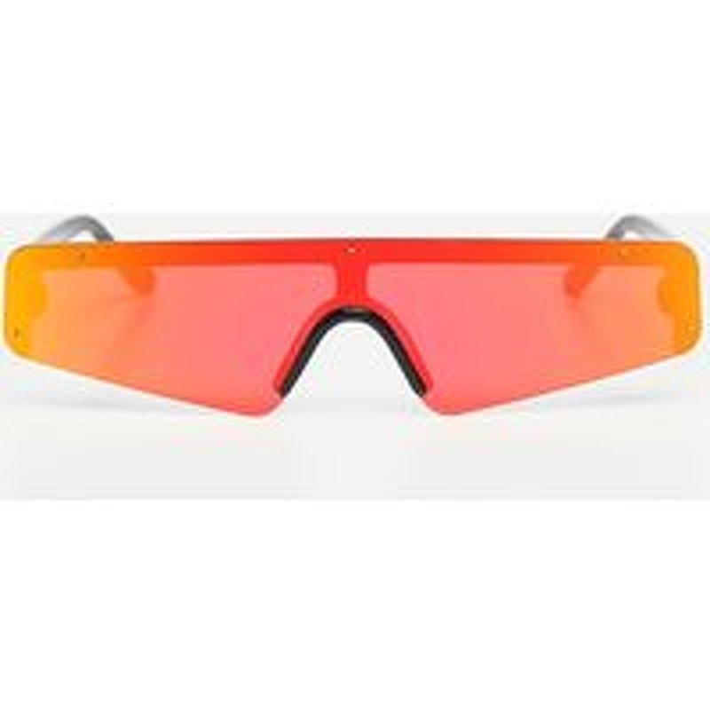 Red Revo Slimline Sporty Sunglasses